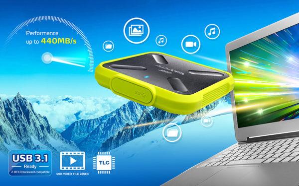 اس اس دی اکسترنال اي ديتا مدل SD700