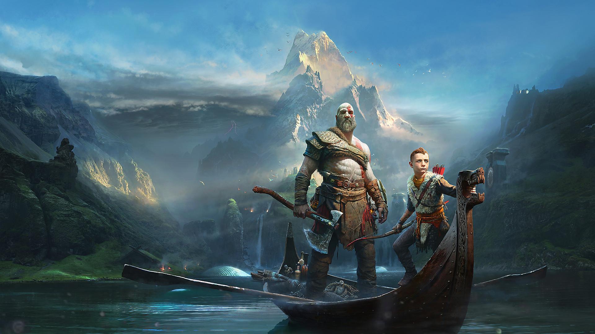 بازی God of War مخصوص PS4 ریجن All