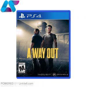 بازی A Way Out مخصوص PS4 ریجن All