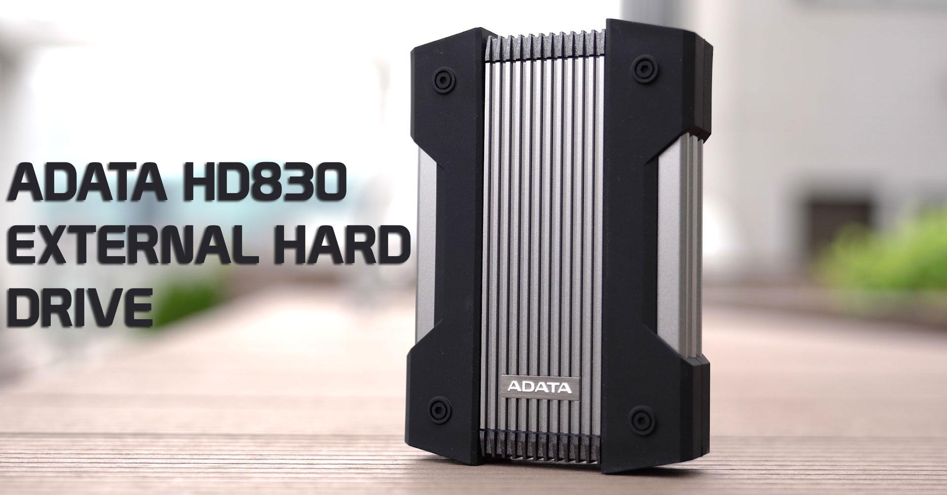 هارد اکسترنال ای دیتا مدل HD830