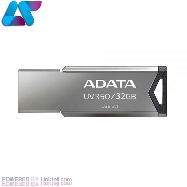 فلش مموری USB3.1 ای دیتا مدل UV350 ظرفیت 32 گیگابایت
