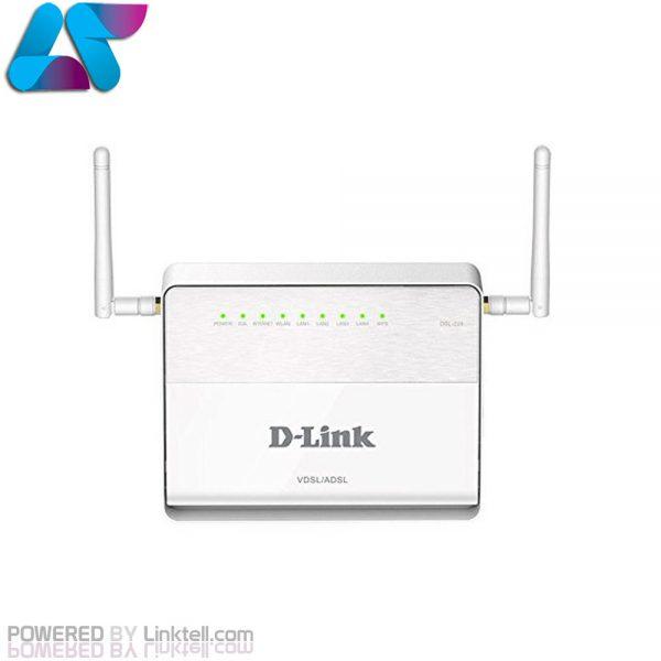 مودم روتر بی سیم ADSL2 Plus و VDSL2 دی لینک مدل DSL-224
