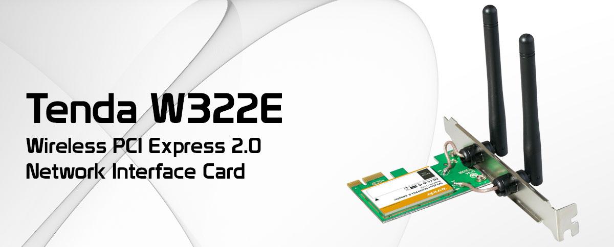 کارت شبکه بی سیم تندا مدل W322E