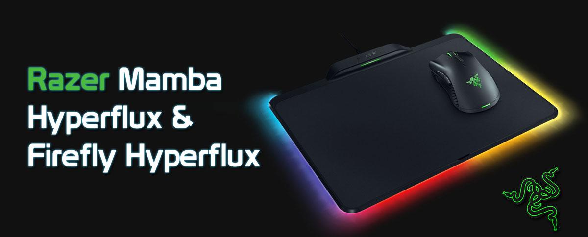 باندل ماوس و پد ماوس گیمینگ ریزر MAMBA HYPERFLUX + FIREFLY HYPERFLUX