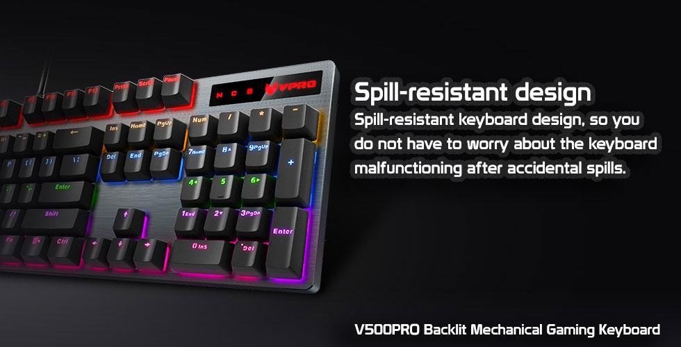 کیبورد مخصوص بازی مکانیکی رپو مدل V500