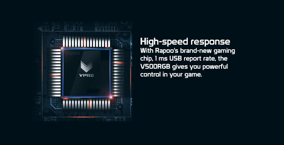 کیبورد مخصوص بازی مکانیکی رپو مدل V500 PRO