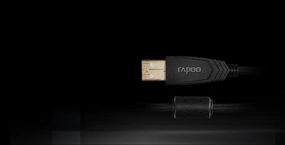 هدست گیمینگ باسیم 7.1 مجازی رپو مدل VH300