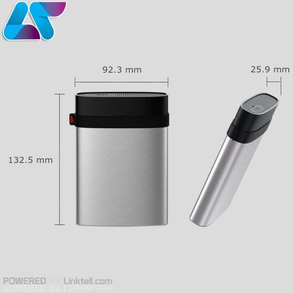 هارد اکسترنال سیلیکون پاور مدل Armor A85 ظرفیت 1 ترابایت