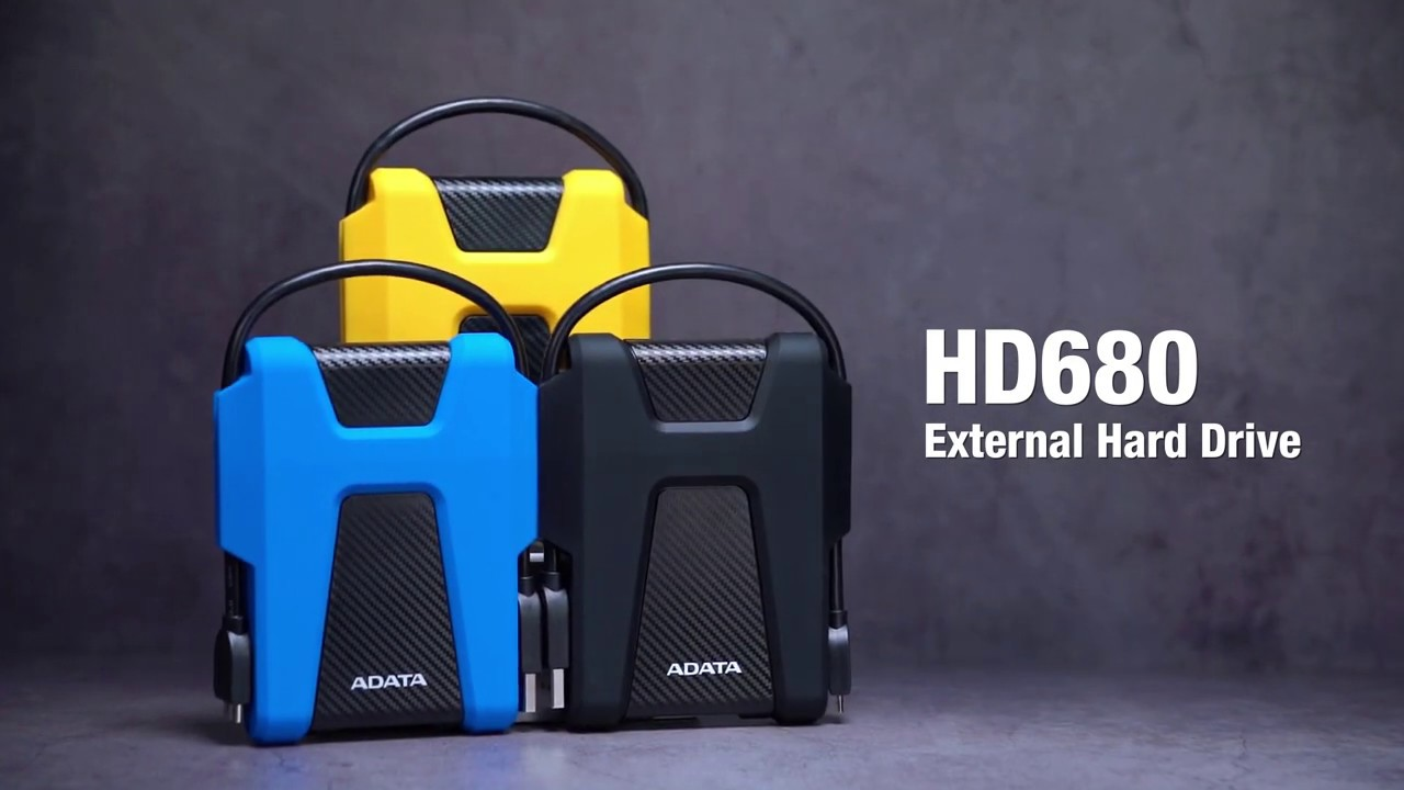 هارد اکسترنال اي ديتا مدل HD680 ظرفیت 1 ترابایت