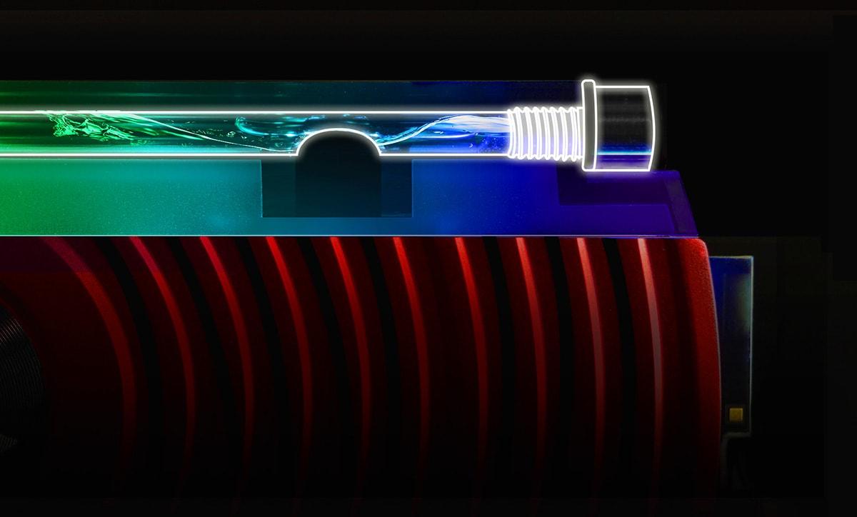رم دسکتاپ DDR4 ای دیتا تک کاناله 3000 مگاهرتز CL16 مدل Spectrix D80