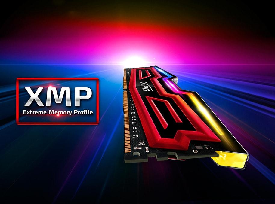حافظهی رم اورکلاک DDR4 ای دیتا تک کاناله 2400 مگاهرتز CL16 مدل Spectrix D40