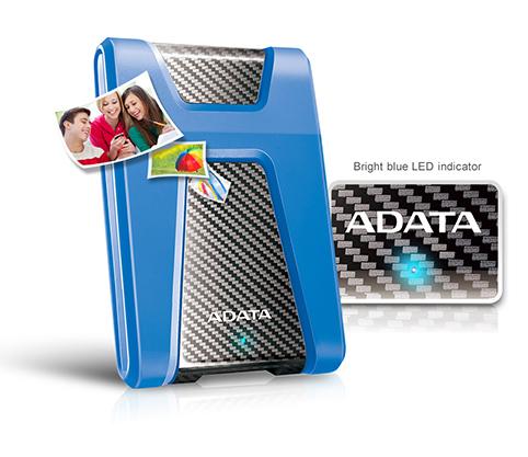 هارددیسک اکسترنال ای دیتا مدل دشدرایو دیوربل HD650