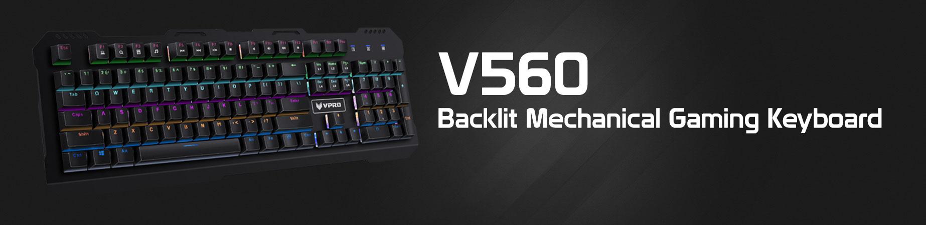 کیبورد گیمینگ باسیم رپو مدل V560
