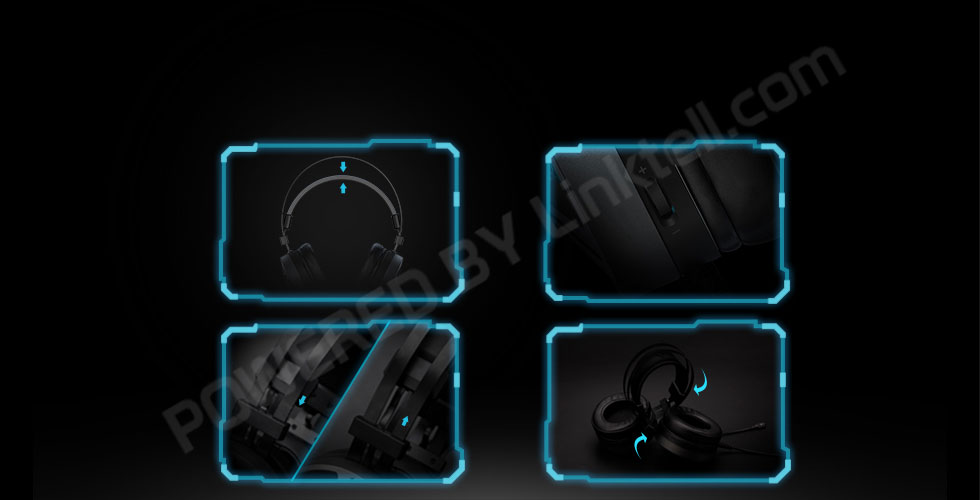 خروجی صوتی 7.1 کانال دارای چراغ LED طراحی میکروفن قابل جدا شدن قابلیت اتصال آسان بدون نیاز به نرم افراز دارای پدهای بزرگ برای استقرار بهتر بر روی گوش بکار بردن اسفنج نرم و با دوام به همراه روکش چرم مصنوعی برای هر بلندگو دارای میکروفون چند وجهی یکبارچه و پنهان در هدست با کیفیت صدای بی نظیر
