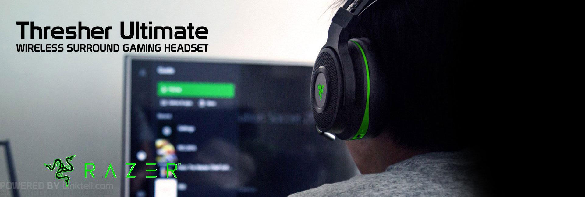هدست گیمینگ بیسیم 7.1 ریزر مدل Thresher Ultimate for Xbox One & PC