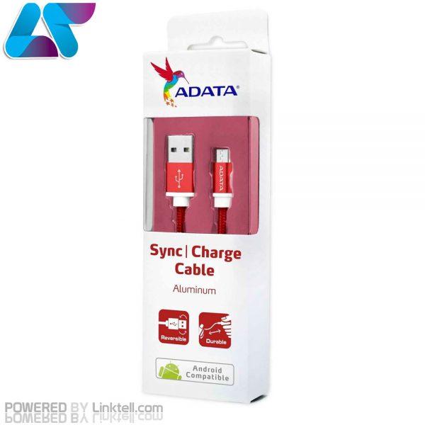 کابل تبدیل USB به microUSB ای دیتا مدل Sync And Charge طول 1 متر