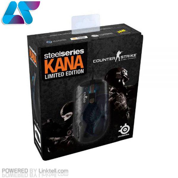 ماوس گیمینگ باسیم استیل سریز مدل KANA CS GO