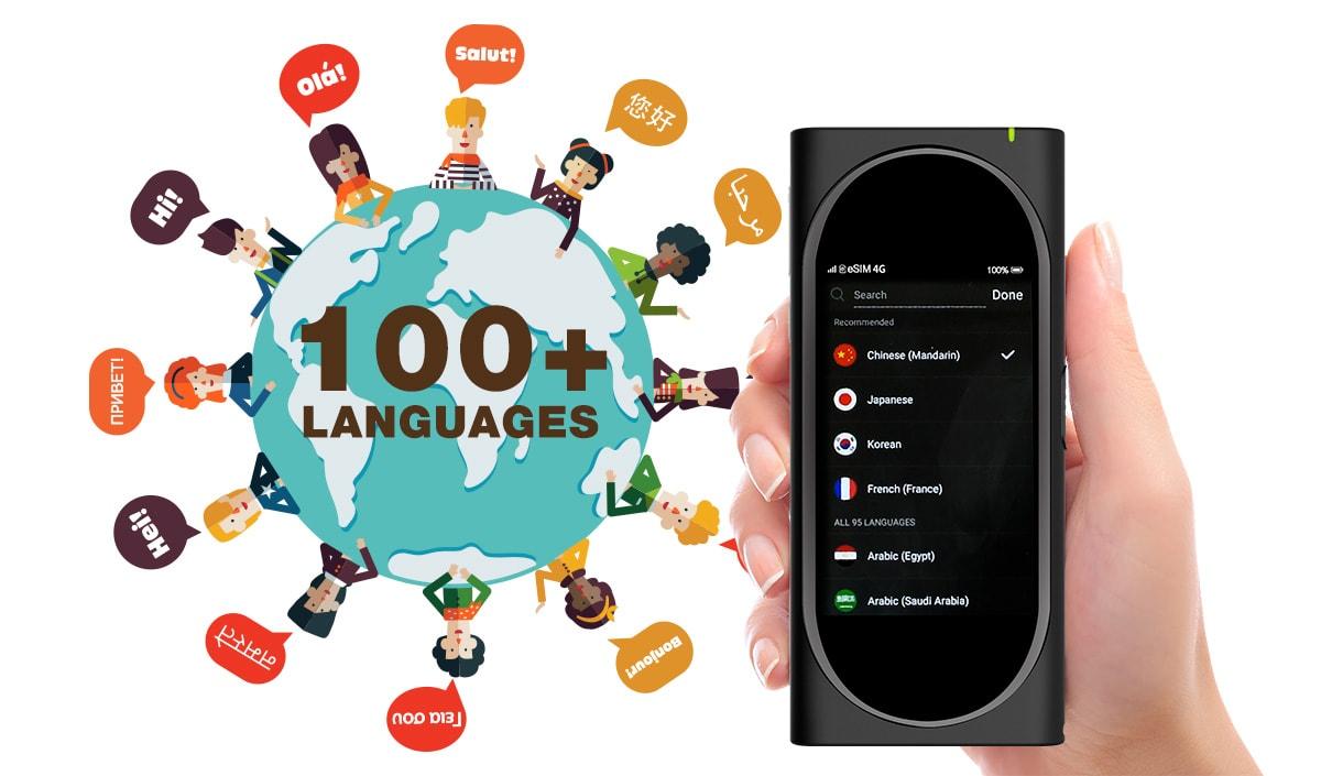 مترجم صوتی ای دیتا مدل TC500 AI