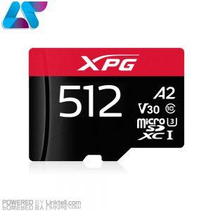 کارت حافظه ایکس پی جی V30 A2 microSDXC/SDHC UHS-I U3 Class10 100MBps