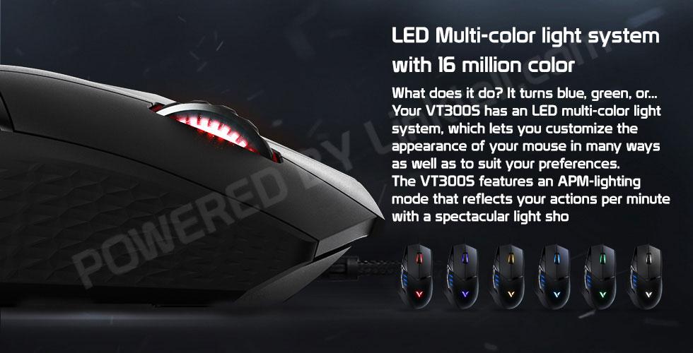 ماوس گیمینگ باسیم رپو مدل VT300S