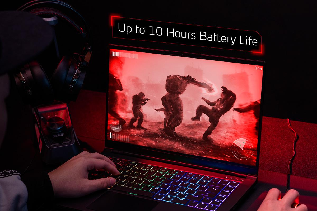 لپ تاپ گیمینگ XPG XENIA ای دیتا