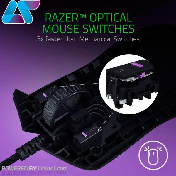 ماوس گیمینگ باسیم ریزر مدل Viper Ultralight Ambidextrous