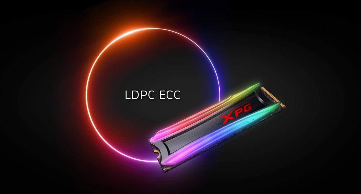 اس اس دی اینترنال ایکس پی جی مدل SPECTRIX S40G RGB PCIe Gen3x4 M.2 2280