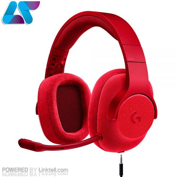 هدست گیمینگ باسیم 7.1 لاجیتک مدل G433 Surround Sound