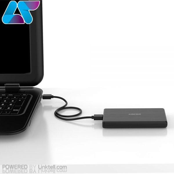 قاب اکسترنال هارددیسک 2.5 اینچی USB 3.0 اوریکو مدل 2189U3-BK