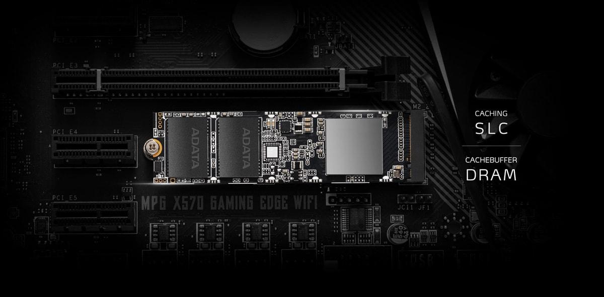 اس اس دی اینترنال ایکس پی جی مدل SX8100 PCIe Gen3x4 M.2 2280