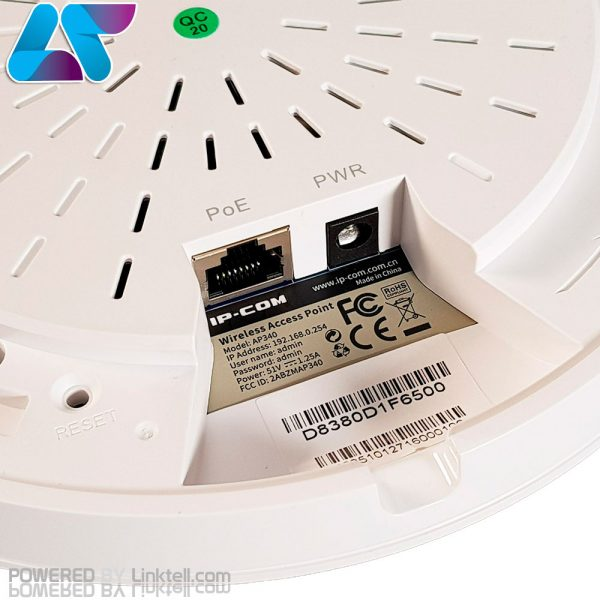 اکسس پوینت سقفی آی پی کام مدل AP340