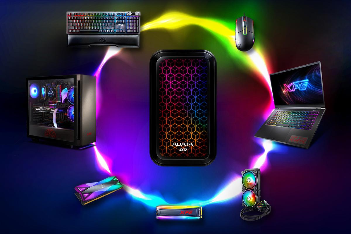 اس اس دی اکسترنال RGB اي ديتا مدل SE770G